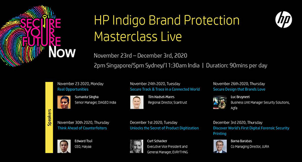 HP Indigo Brand Protection Masterclass