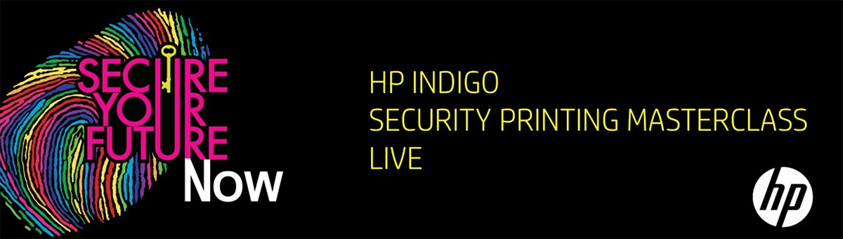 HP Indigo Security Printing Masterclass Live