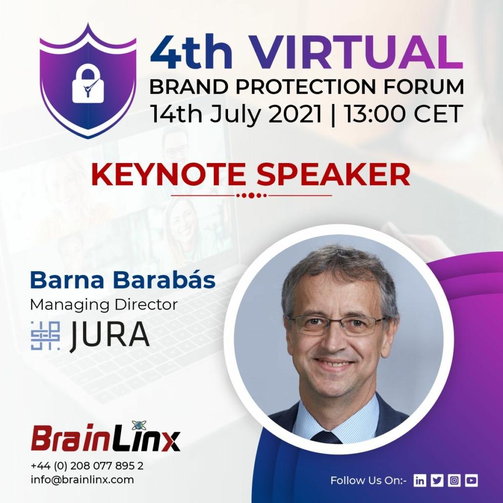 4th Virtual Brand Protection Forum 2021